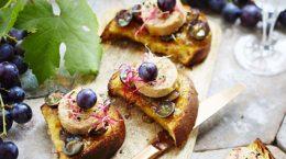 Crostinis de foie gras